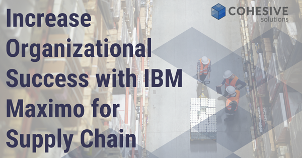 Maximo for Supply chain Ibm Maximo Supply chain