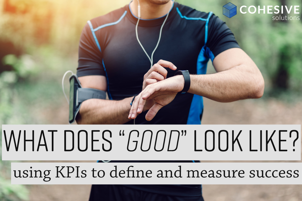 what does 'good' look like? Using KPIs to define and measure success